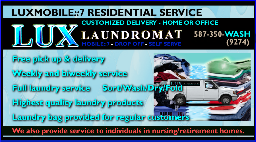 LUX LAUNDROMAT RESIDENTIAL SERVICE